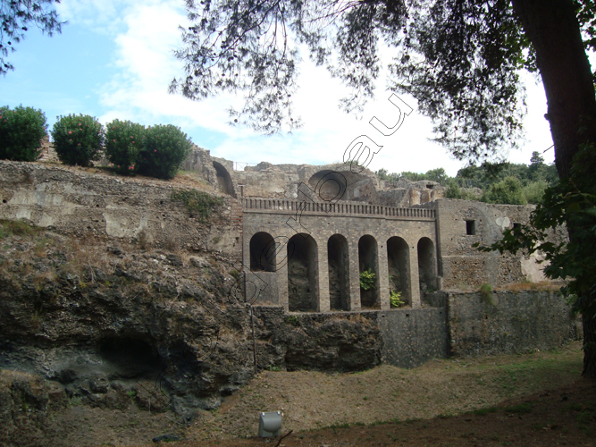 Pedro Holderbaum . Pompei . Il vulcano Vesuvio . Italia 1 cópia