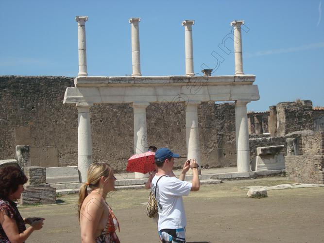 Pedro Holderbaum . Pompei . Il vulcano Vesuvio . Italia 10 cópia
