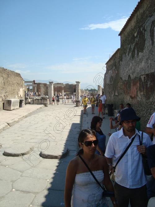 Pedro Holderbaum . Pompei . Il vulcano Vesuvio . Italia 16 cópia