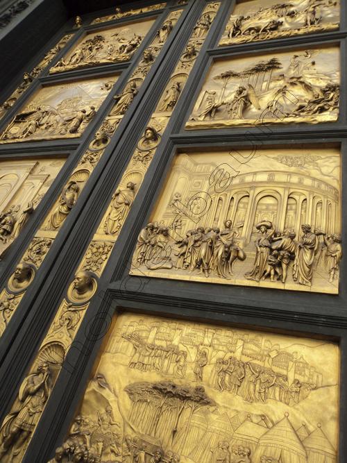 Art 43 - Portal del Paraiso - Duomo - Firenze Italia