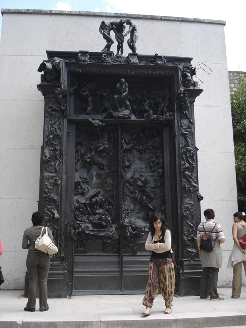 Art 48 - Gates of Hell - Musée Rodin - Paris